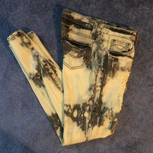 Mossimo Supply Co. Jeans - Acid Wash distressed skinny jeans